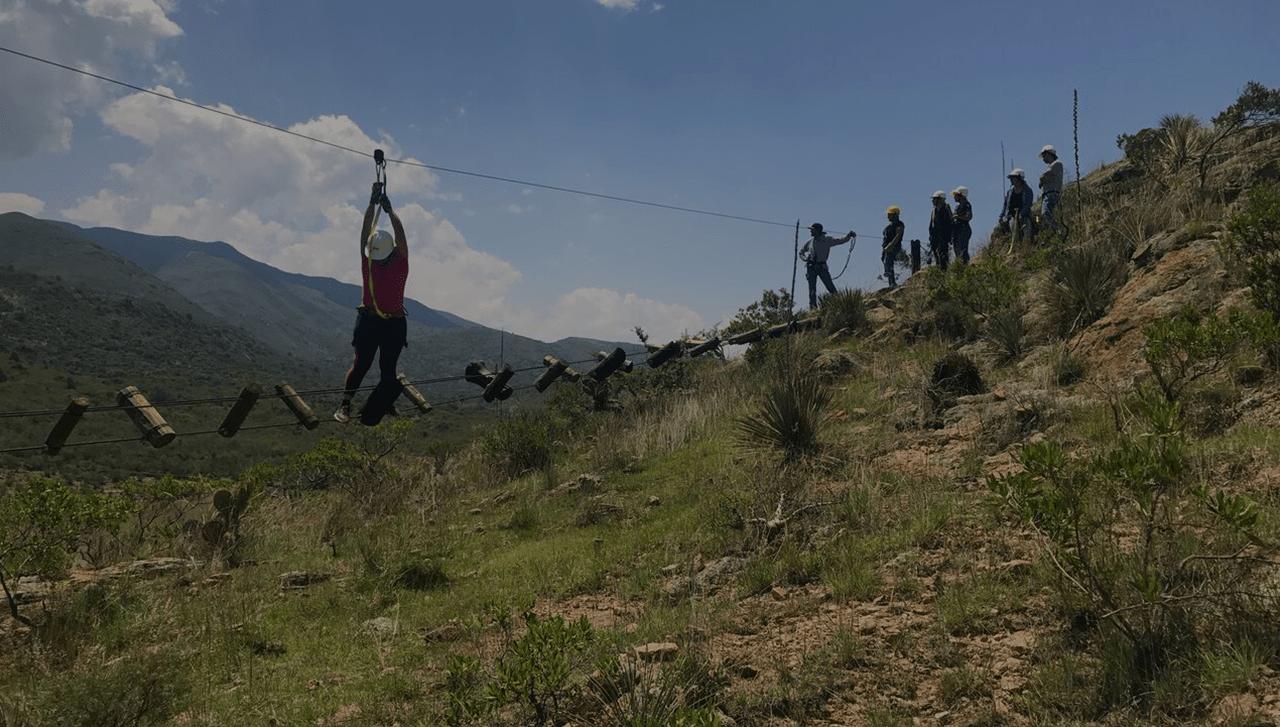 tirolesas en México
